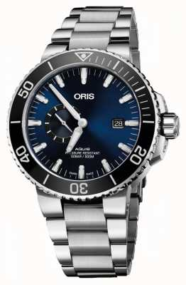 Oris Aquis Date Automatic Stainless Steel Blue Dial 01 743 7733 4135-07 8 24 05PEB