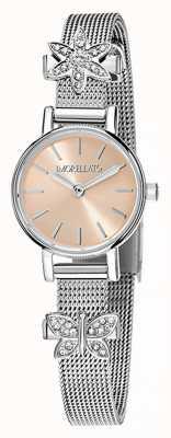 Morellato womens Tesori Stainless Steel Charm Watch R0153122582