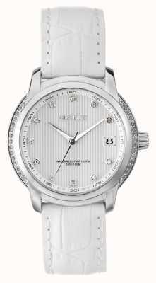 GANT Womens Lynbrooke White Leather Strap White Dial W10714