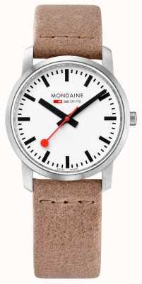 Mondaine Simply Elegant Slim Watch Sand A400.30351.16SBG