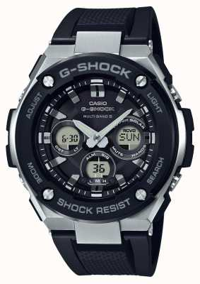 Casio Casio G-Shock G Steel Midsize Alarm Chrono Black GST-W300-1AER