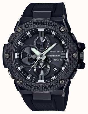 Casio Mens G-Shock G-Steel Bluetooth Triple Connect Carbon Chrono GST-B100X-1AER