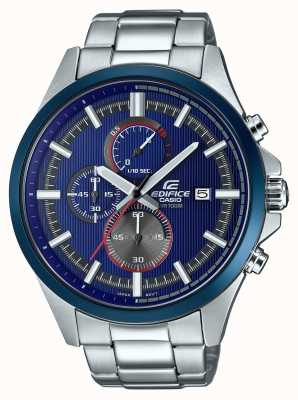 Casio Mens Edifice Racing Blue Chronograph Watch EFV-520RR-2AVUEF