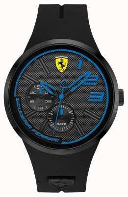 Scuderia Ferrari Men's Black Silicone 0830395