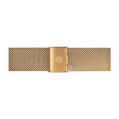 Paul Hewitt Jewellery gold stainless steel mesh strap size S PH-M1-G-4S