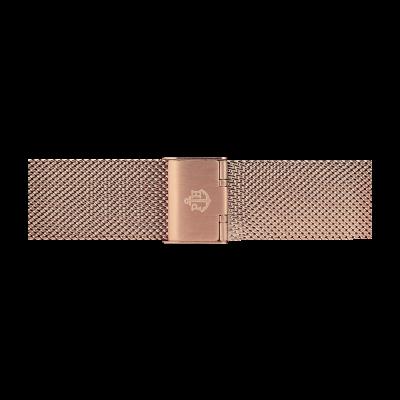 Paul Hewitt Rose Gold Stainless Steel Mesh Bracelet 176mm PH-M1-R-4S