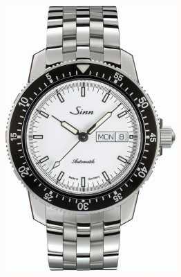 Sinn 104 St Sa I W Classic Pilot Watch Stainless Steel Fine Strap 104.012 BRACELET