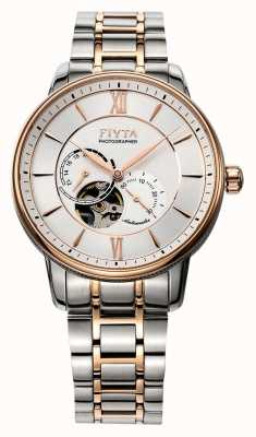 FIYTA Mens Photographer Two Tone Auto Watch GA860003.MWM