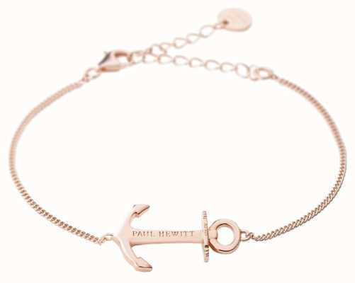 Paul Hewitt Anchor Spirit Rose Gold Bracelet PH-AB-RG
