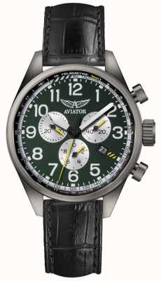 Aviator Mens Airacobra P45 Chronograph Watch V.2.25.7.171.4