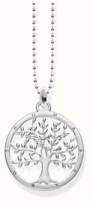 Thomas Sabo Sterling Silver Tree Necklace KE1660-001-21-L45V