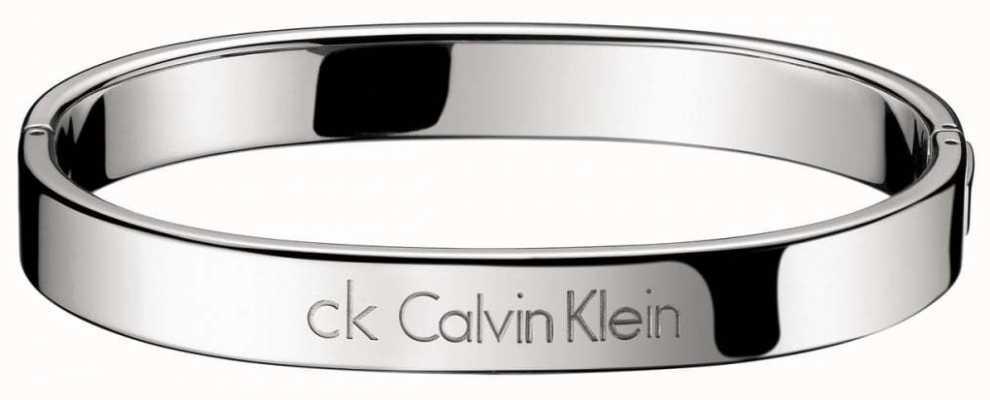 Calvin Klein Stainless Steel Hook Bangle Medium KJ06CB01010M