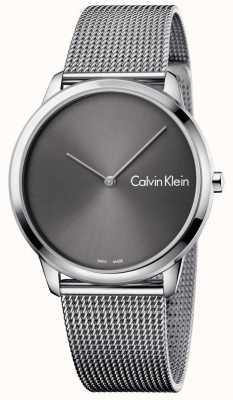 Calvin Klein Unisex Minimal Watch Mesh Strap K3M211Y3