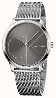 Calvin Klein Unisex Minimal Watch Mesh Strap K3M21123