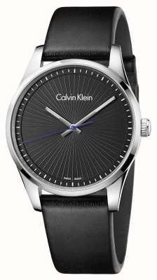 Calvin Klein Mens Steadfast Watch Black K8S211C1