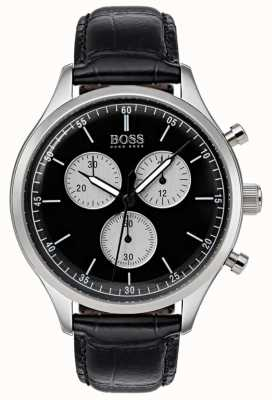 Boss Mens Companion Chronograph Watch Black 1513543