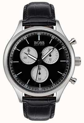 Hugo Boss Mens Companion Chronograph Watch Black 1513543
