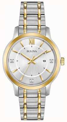 Bulova Women's Classic Stainless Steel Dress Watch 98P175