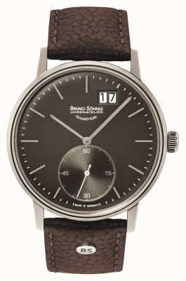 Bruno Sohnle Stuttgart II 42mm Brown Leather Watch 17-13179-841