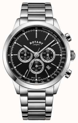 Rotary Mens Cambridge Chronograph Stainless Steel GB05253/04
