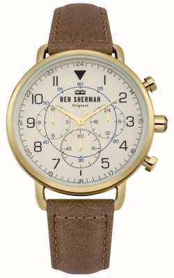 Ben Sherman Mens Portobello Military Chronograph Watch WB068WT