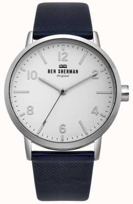 Ben Sherman Mens Biig Portobello Herringbone Watch WB070UB