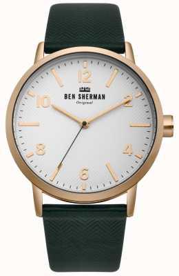 Ben Sherman Mens Biig Portobello Herringbone Watch WB070NBR
