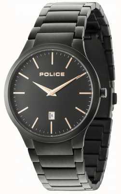 Police Horizon Black Bracelet Black Dial 15246JSB/02M