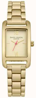 Daisy Dixon Gold Bracelet Gold Satin Dial DD057GM