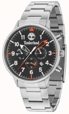Timberland Spaulding Black Multi Dial Silver Bracelet 15263JS/02M