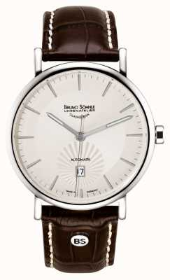Bruno Sohnle Lagomat 42mm Automatic Stainless Steel Beige Dial 17-12096-241
