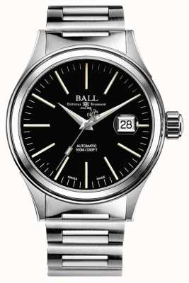 Ball Watch Company Fireman Automatic 40mm magnified date Black Dial NM2188C-S5J-BK