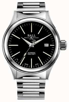 Ball Watch Company Fireman Automatic 40mm Black Dial NM2188C-S20J-BK