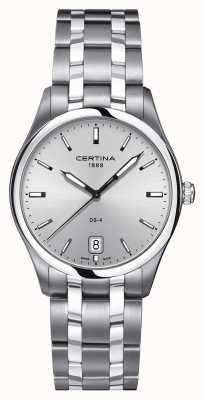 Certina Mens DS-4 Stainless Steel Watch C0224101103100