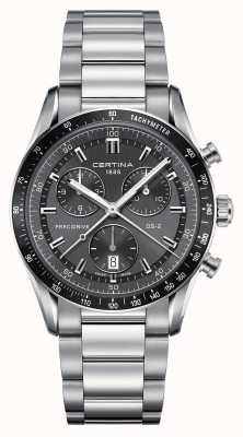 Certina Mens Ds-2 Precidrive Chronograph Watch C0244471108100