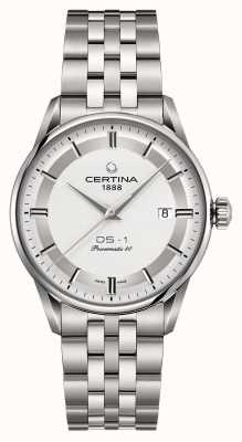 Certina Mens Ds-1 Powermatic 80 Automatic Watch C0298071103160