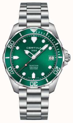 Certina Mens Ds Action Precidrive 300m Watch C0324101109100