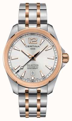 Certina Mens Ds Action Chronometer Watch C0328512203700