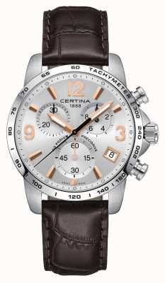 Certina Mens Ds Podium Precidrive Chronograph Watch C0344171603701
