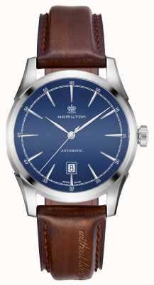 Hamilton Mens Spirit Of Liberty Automatic Blue Dial Watch H42415541