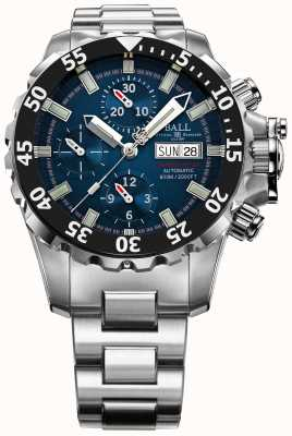 Ball Watch Company Mens Engineer Blue NEDU Hydrocarbon 600m Automatic Chrono DC3026A-SC-BE