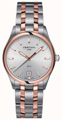 Certina Mens DS-4 Two Tone Quartz Watch C0224102203100
