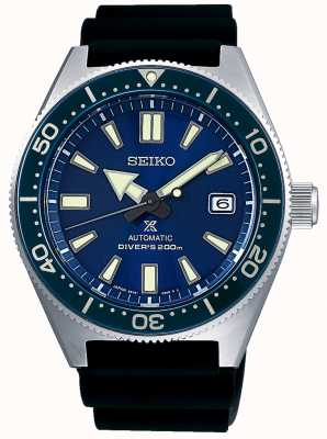 Seiko Prospex Sea Blue Dial Blue Bezel Screw Down Crown SPB053J1