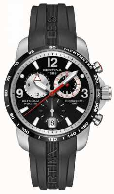 Certina Mens DS Podium Big Size Chrono GMT Quartz C0016392705700