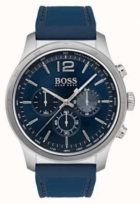 Hugo Boss Mens Professional Chronograph Watch Blue 1513526
