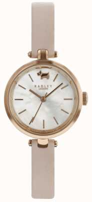 Radley Ladies 29mm Case White Dial Dust Rose Leather Strap RY2654