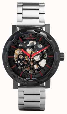 Weird Ape Kolt Automatic Stainless Steel Bracelet Black IP Case WA02-005507