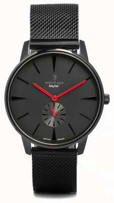 Weird Ape Mayfair All Black And Red Mesh Black WA02-005615