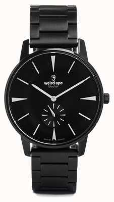 Weird Ape Mayfair Black Dial White Markers Black Link Bracelet WA02-005622