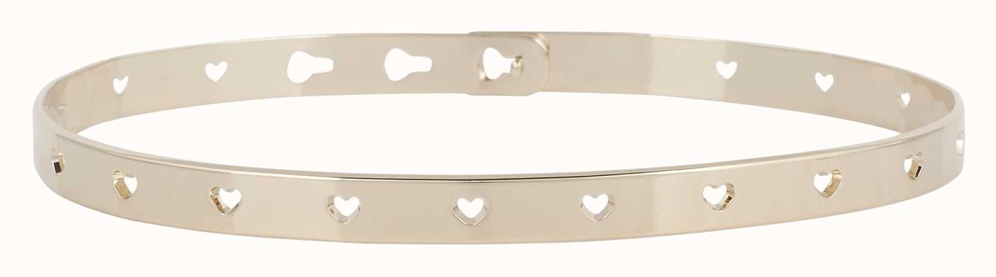 Mya Bay Gold PVD Plated Hearts Bangle JC-52.G